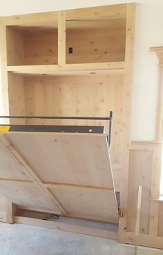 Murphy Bed Custom Unfinished Wallbed Systems Wallbeds by Murphy Wallbed USA #wallbed #murphybed