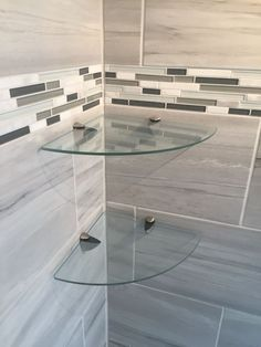 Bathroom shower glass corner shelves http://www.amazon.com/John-Sterling-KT-0134-1212SN-Corner-12-Inch/dp/B0042U2UYS