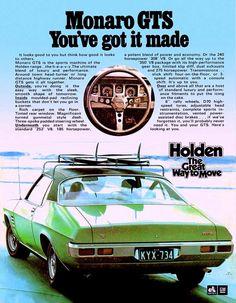 Using Vintage Car Clip Art to Design Almost Anything - Popular Vintage Australian Muscle Cars, Aussie Muscle Cars, Hq Holden, Chevy, Holden Australia, Holden Monaro, Car Brochure, Car Advertising, Vintage Cars