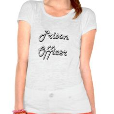 Prison Officer Classic Job Design T Shirt, Hoodie Sweatshirt