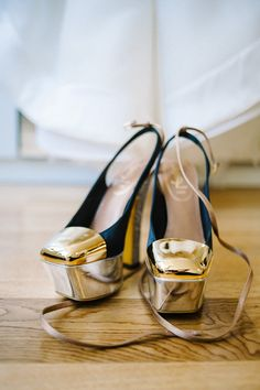 Amazing YSL shoes    Photography By / http://jacobarthur.com,Floral Design By / http://quatrecoeur.com