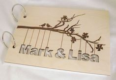 Each laser cut Bride Groom Guest Book is cut from 3mm Birch ply Each laser cut Bride Groom Guest book is cut from 3mm Birch ply The Bride Groom s