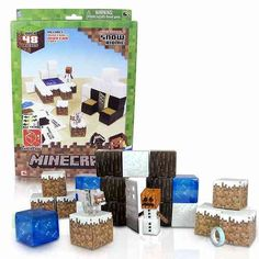 If you have a kid between you have most likely heard of Minecraft 😉 Both of my kids LOVE this game. The accessories, toys and such seem to sell out quickly too! I put together a list of 20 Gifts for the Minecraft Player to help give you some ideas … Minecraft Toys, Minecraft Video Games, How To Play Minecraft, Minecraft Gifts, Mojang Minecraft, Minecraft Blocks, Minecraft Stuff, Minecraft Ideas, Construction Minecraft