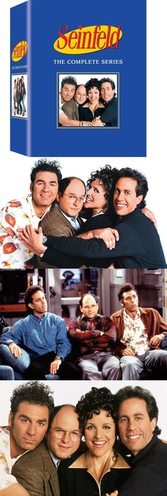 cds dvds vhs: Seinfeld: The Complete Series Box Set [Dvd 33 Discs, 180 Episodes, Jerry] New -> BUY IT NOW ONLY: $58.49 on eBay!