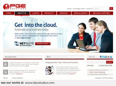 web design by { ideo studios } Client: PGE Solutions Pay Per Click Advertising, Advertising Agency, Search Engine Optimization, Design Development, Digital Media, Cool Things To Make, Internet Marketing, Digital Marketing, Web Design