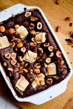 Double Chocolate & Nut Brownies