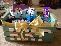 Sorority Crate- Kappa Kappa Gamma