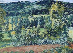 The Hill at Choisel, 1930. Louis Valtat