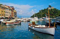 Город Портофино, Италия