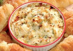 Spicy Cajun Shrimp Dip plus tons of other good Cajun recipes on this blog