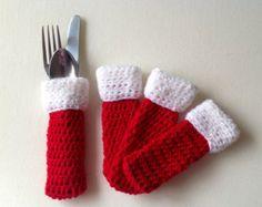 Titulares de Navidad cubiertos decoración por DreamsByTheRiver