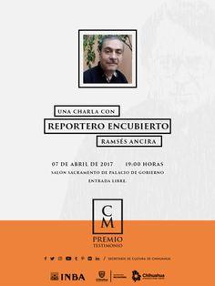 """""""Reportero Encubierto"""" ganador del Premio Bellas Artes Testimonio de Carlos Montemayor 2016"""