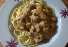 Tortellini, Bacon, Spaghetti, Eat, Ethnic Recipes, Food, Essen, Meals, Yemek