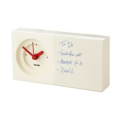 Look what I found at UncommonGoods: notepad clock... for $25 #uncommongoods