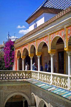 Casa de Pilatos, Sevilla, Andalucía, Spain. http://www.costatropicalevents.com/en/costa-tropical-events/andalusia/welcome.html