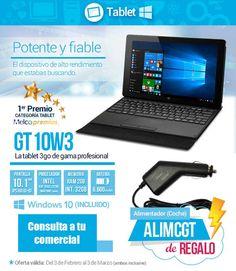 3GO GT 10W3, potente y fiable