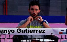 Sanyo Gutiérrez, actual número 2 del #WorldPádelTour #Pádel #PádelProfesional.