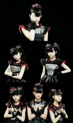 Babymetal Heavy Metal Music, Heavy Metal Bands, Screamo, Asian Men, Asian Guys, Alternative Music, Dark Fantasy Art, Girl Bands, Kawaii Fashion