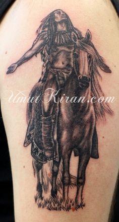 Indian Tattoo By UmutKiran