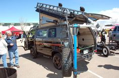 The most accessorized Vanagon ever