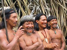 Huaorani warriors