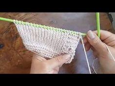Örgüde ilik nasıl açılır - Örgü Dersleri - YouTube Knitting Videos, Crochet Videos, Crochet Motifs, Knit Crochet, Bind Off, Crochet For Kids, Crochet Clothes, Couture, Fingerless Gloves