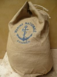 Vintage French Mariners Sack