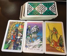 How three cards say the story for the week!