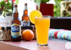 Peachy Summer Ale via Inspired by Charm #DrinksandLinks