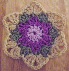 Crochet stars..Fill-ins and 'Join as you go' SC and another Crochet Star to play…
