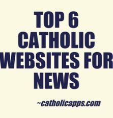 We have got the top 6 Catholic places for news on the web. You may have thought there was just one or two, but we have more. Repin for later, and then click through to find out about this app and many many others!