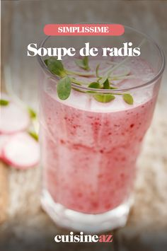 Une idée de soupe à base de radis à servir à l'apéritif. #recette#cuisine#soupe#radis #aperitif #apero Vegetables, Smoothie, Food, Funny, Cream Soups, Good Things, Essen, Vegetable Recipes, Smoothies
