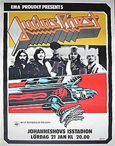 #JudasPriest #Stockholm #1984