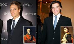 Descendants of Napoleon Bonaparte and the Duke of Wellington, Jean-Christophe Napoleon Bonaparte and Arthur Mornington, Marquess of Douro are rivals in private equity firms. Descendants, Queen Victoria Family Tree, Battle Of Waterloo, Marquess, History Class, French Revolution, Important People, Blue Bloods, Napoleonic Wars