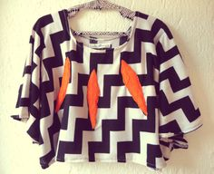 Hand Embroidered Chevron Poncho Blouse by lukuma on Etsy, $42.00