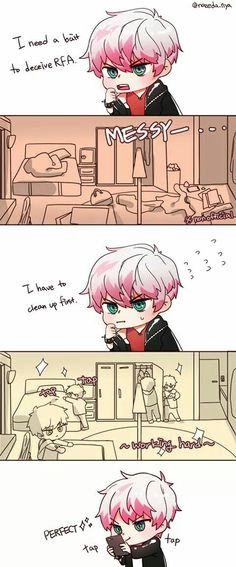 Unknow (Saeran) is so kawaiii~~
