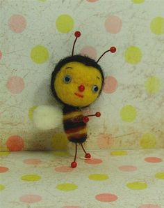 Bee Mine! Tiny Bee Preorder by violetpi on Etsy