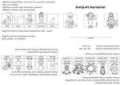 materialpaket wortartensymbole nach montessori deutsch schule und wortarten. Black Bedroom Furniture Sets. Home Design Ideas