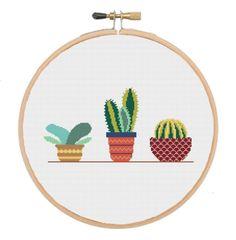 32 Best Cactus cross stitch images in 2017   Cactus cross
