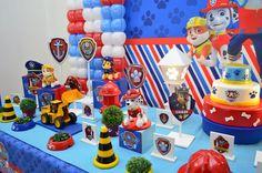 Resultado de imagem para festa infantil pinterest patrulha canina