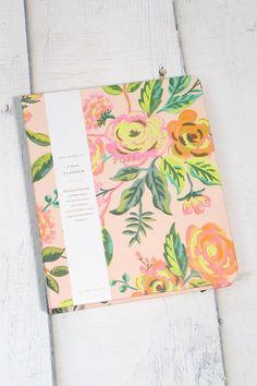2017 Jardin de Paris Covered Spiral Planner {Pink}