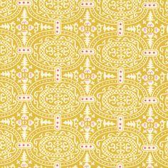 Amy Butler Alchemy Fabric: Memoir, Zest (per 1/4 metre)