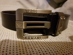 Giorgio Armani - Genuine Leather Belt 33-35  fashion  clothing  shoes   accessories  mensaccessories  belts (ebay link) 8a0beec2c33