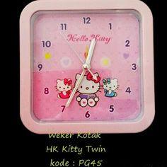 Toko Cherish Imut  Weker Hello Kitty Murah Grosir Ecer Kotak Twin Minnie  Mouse a433e823e8