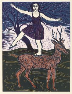 Eileen Cooper RA 's DIANA AND ACTAEON at the RA Summer Exhibition 2015