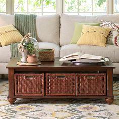 Cozy living room design.