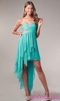 Cute Blue high low dress :)