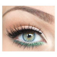 Learn to do, to make me pretty / neutral eye, bold liner on lower lash line, found on polyvore.com