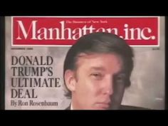 Trump Documentary from the 80s/90s that Trump sued to stop release now public. Chock full of very poignant clips. Skip to 29 minutes for a good example. : Trumpgret