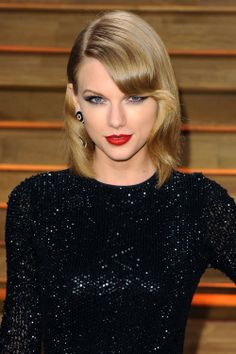 Short Hair, Don't Care <3 you're still awesome in that hair Taylor Swift <3